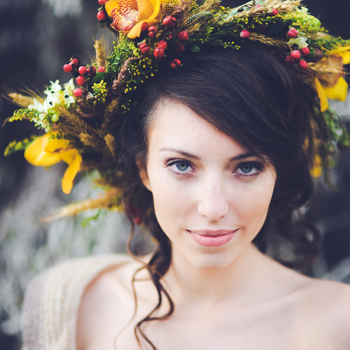 Seasonal Wedding Hair
